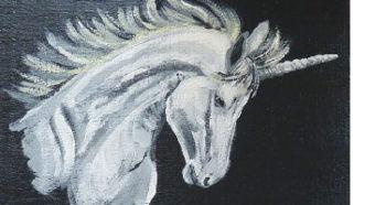 Peinture de licorne