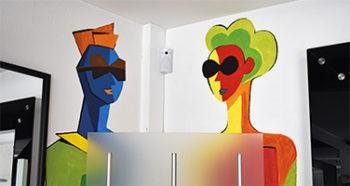 décor peinture opticien
